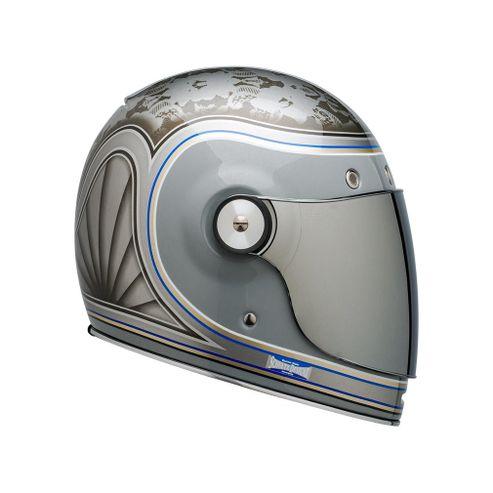 Capacete-Bell-Bullitt-Schultz-Century-Silver