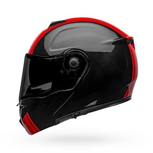 Capacete-Bell-Srt-Modular-Ribbon-Black-Red