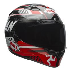 Capacete-Bell-Qualifier-Dlx-Isle-Of-Man-Black-Red