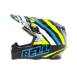 Capacete-Bell-Mx-9-Tagger-Scrub-Psycho