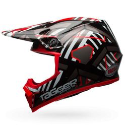 Capacete-Bell-Mx-9-Mips-Double-Trouble-Black-Red