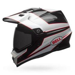 Capacete-Bell-Mx-9-Mips-Stryker-Black-White