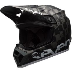 Capacete-Bell-Mx-9-Mips-Seven-Checkmate-Black