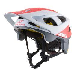 Capacete-Alpinestars-Vector-Tech-Polar-Branco-Vermelho
