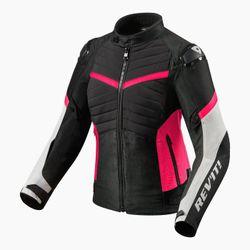 FJT260_Jacket_Arc_H2O_Ladies_Black-Fuchsia_front_1-1-