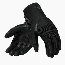 FGS136_Gloves_Drifter_3_H2O_Ladies_Black_front-1-