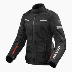 FJT296_Jacket_Sand_4_H2O_Ladies_Black_front-1-
