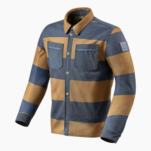FSO012_Overshirt_Tracer_Air_Brown-Blue_front_3-1-