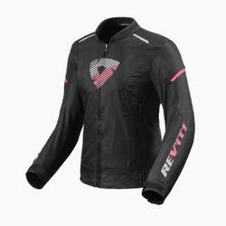FJT290_Jacket_Sprint_H2O_Ladies_Black-Pink_front-1-