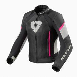 FJL113_Jacket_Xena_3_Ladies_Black-Pink_front_3-1-
