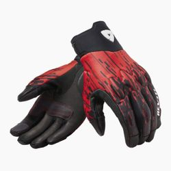 FGS167_Gloves_Spectrum_Black-Neon_Red_front-1-