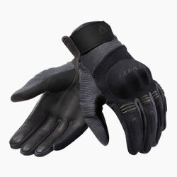 FGS165_Gloves_Mosca_H2O_Black-Anthracite_front-1-