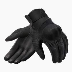 FGS166_Gloves_Mosca_H2O_Ladies_Black_front-1-